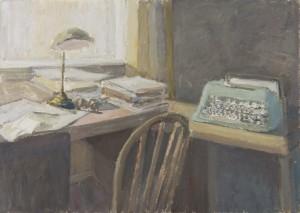 Thomas Merton's Desk